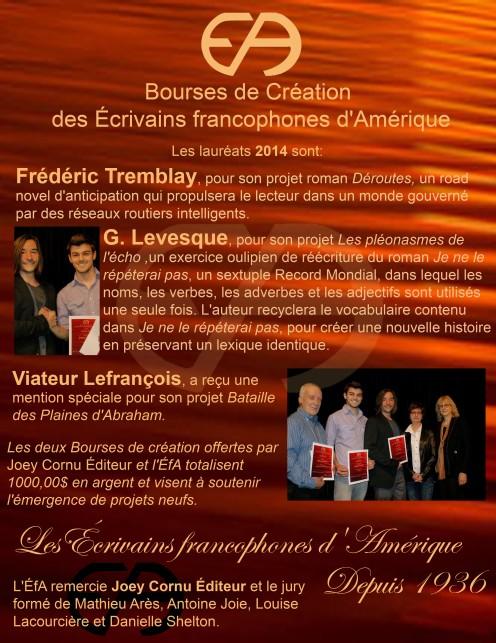 laureatboursescreationefa2014